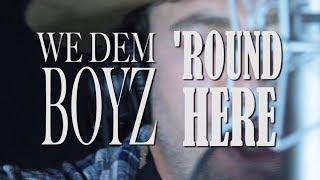 Wiz Khalifa & Blake Shelton MASHUP - We Dem Boyz 'Round Here by 2 SCARVES mp3