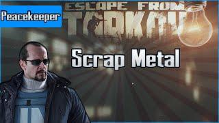 Scrap Metal - Peacekeeper Task - Escape from Tarkov Questing Guide EFT
