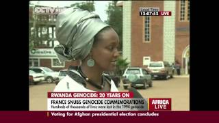 Dr Alice Karekezi on the France role on the Rwanda's Genocide
