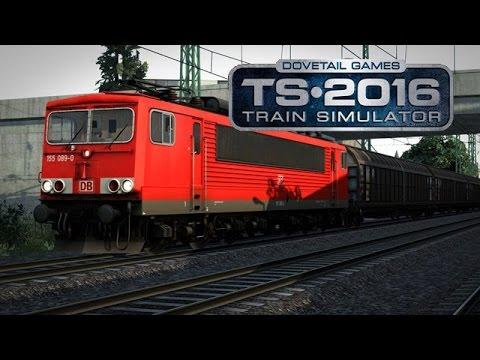 Sagent zockt an..Train Simulator 2016! Fail? [HD]