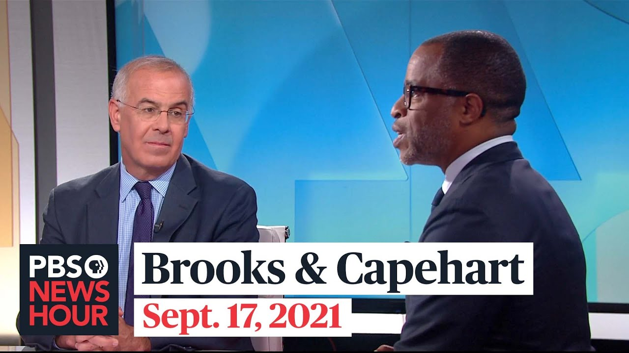 Download Brooks and Capehart on border politics, Biden's job approval, U.S. and France tensions