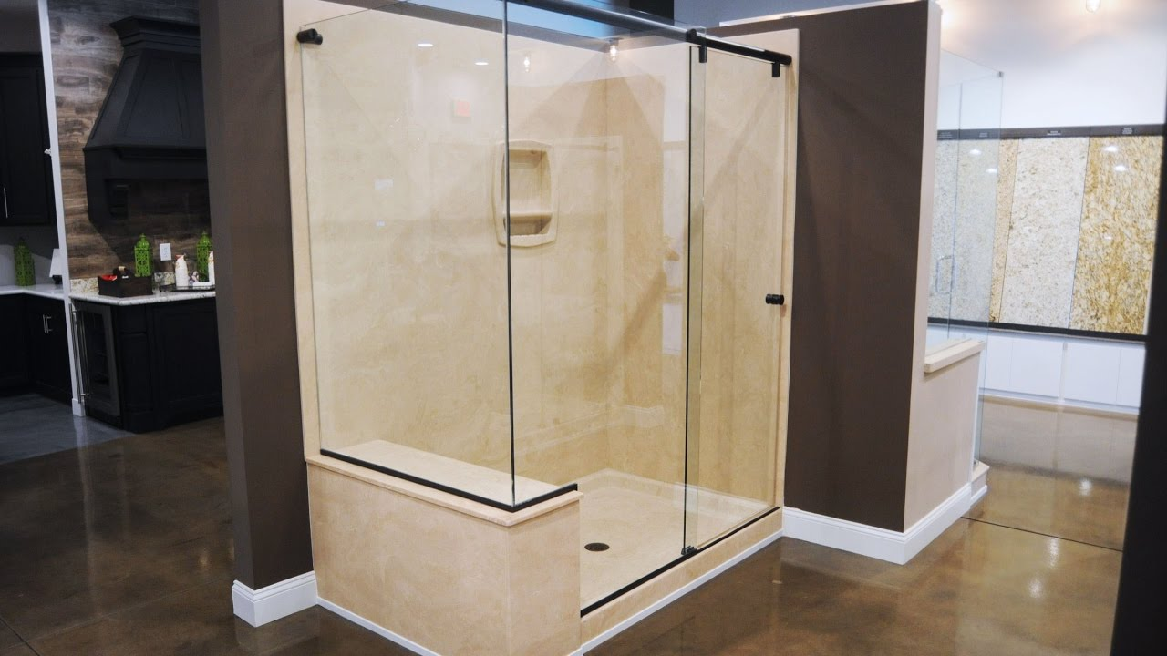 Attrayant Cultured Marble Shower Walls