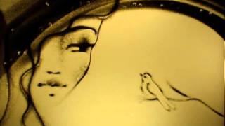 Рисование песком, песочное шоу Весна Петровская Татьяна