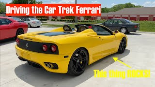 I Drove Hoovie's FERRARI 360 From CAR TREK!