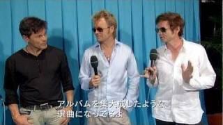 a-ha - SUMMER SONIC 2010 - interview