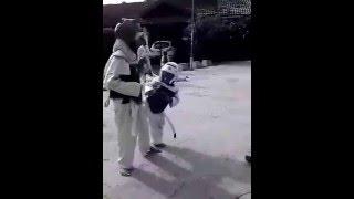 Nephew (Kid Taekwondo / Tae Kwon Do Kid) on Practice
