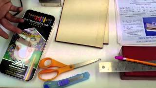 Common Household Items Useful for Book Repair:  Save Your Books