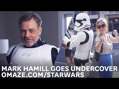 Thumbnail: Mark Hamill Goes Undercover as a Stormtrooper on Hollywood Blvd