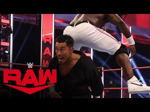 R-Truth vs. Akira Tozawa – 24/7 Championship Match: Raw, June 29, 2020