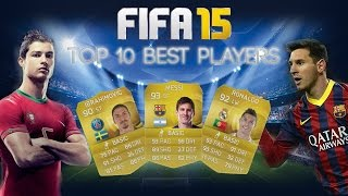 Fifa 15 Ultimate Team Top 10 Players | Best Player Ratings Thumbnail