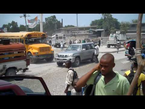 Life on the  Streets of  Haiti