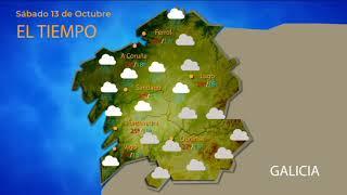 La entrada de un frente en la península dejará lluvias en la provincia este sábado