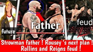Braun Strowman's father Big Show !future plans for Ronda ! seth rollins and roman reigns feud !
