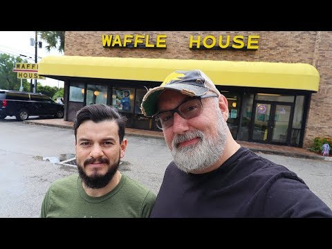 First Time Eating At Waffle House