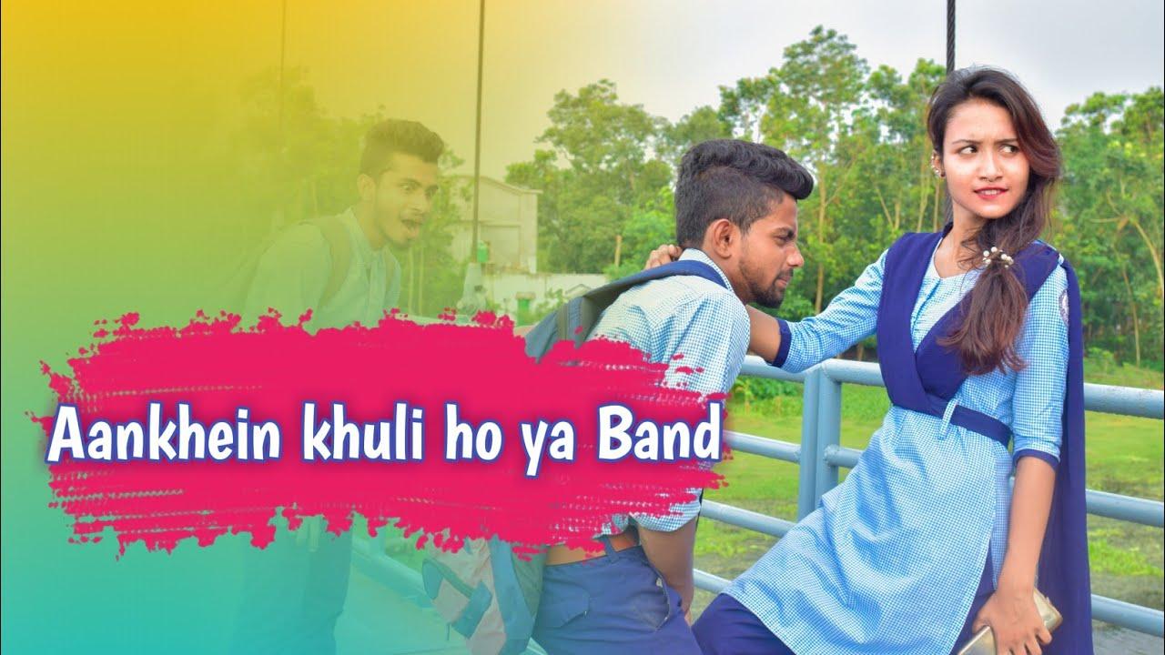 Aankhein khuli ho ya band | Romantic School Love Story |Ft.Robi & Priyanka  | Love Attracion