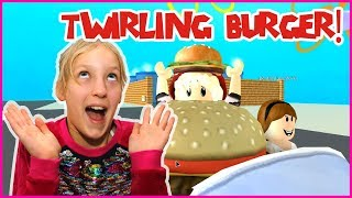 Becoming a Twirling Burger!