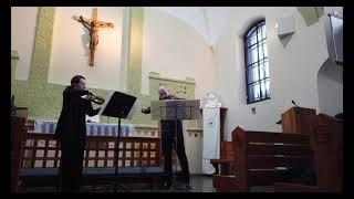 Фрагмент концерта камерной музыки 22.02.2021 в кирхе Зеленогорска