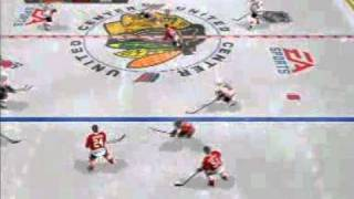 NHL 11 First time play highlights 2-players PS3