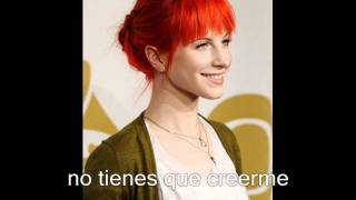 Paramore - Playing God (en español)