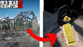 I FOUND 6 GOLD BARS HERE | How To Make Fast Money | Red Dead Redemption 2