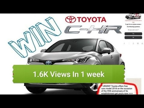 How To Win A Car >> Win New Toyota Car Toyota New Model 2018 How To Win A Toyota Car What Is Realty Win Car Urdu Hindi
