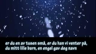 HIMLEN I MIN FAVN med norsk tekst