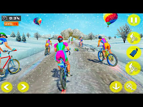 Bicycle Racing Game Play - Best Android Bicycle Game - Cycle Racing - Cyclerace Game thumbnail