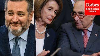 JUST IN: Ted Cruz Celebrates Failure Of Democrats' Voting Reform Bill In Senate