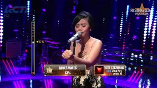 "Evony Arty ""LDR"" Raisa - Rising Star Indonesia Best Of 5 Eps 23"
