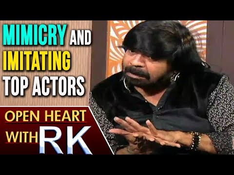 Actor T Rajendar About Mimicry And Imitating Top Actors | Open Heart With RK | ABN Telugu