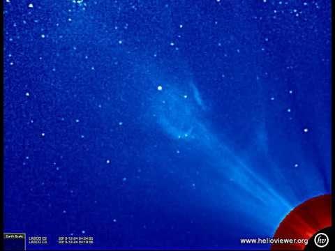 LASCO C2/C3 (2013-12-23 11:48:06 - 2013-12-25 11:36:05 UTC)