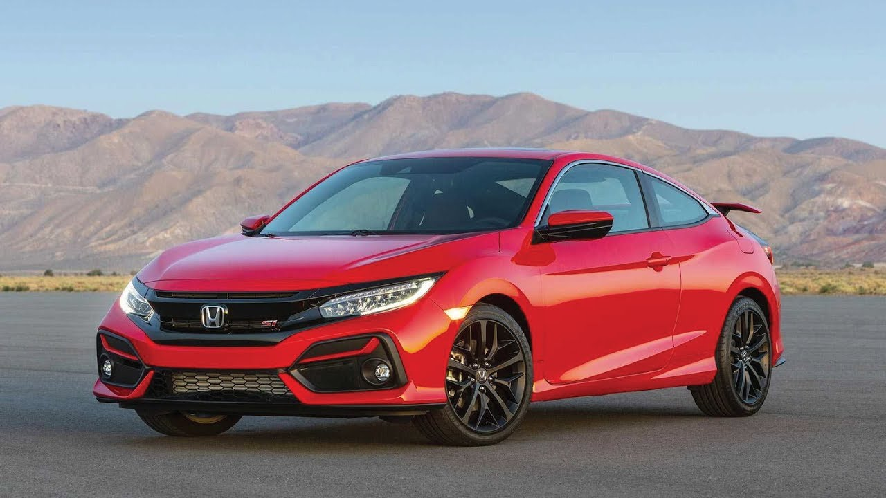 2020 Honda Civic Si Gets New Looks, Technology