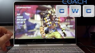 HP Spectre x360 Kaby Lake i7 Gaming Overwatch