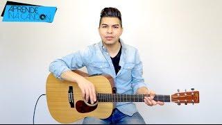 """Tu poeta"" Alex Campos - TUTORIAL | ACORDES"