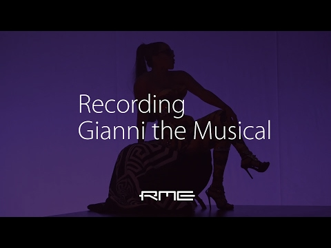 Recording GIANNI the Musical - RME Audio MADIface USB