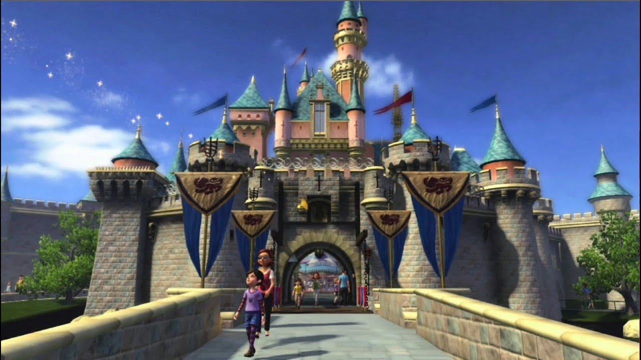 Kinect Disneyland Adventures Gameplay Trailer For Xbox 360 YouTube