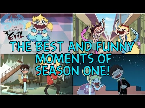Star vs. The Forces of Evil - The Best and the Funny Moments of Season One!