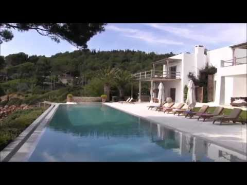 An elegant contemporary 9 bedroom home on the waterfront in San Carles-BCB17