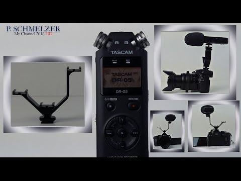 Tascam DR05 Audio Recorder für Stereoaufnahmen in  MP3 oder WAV