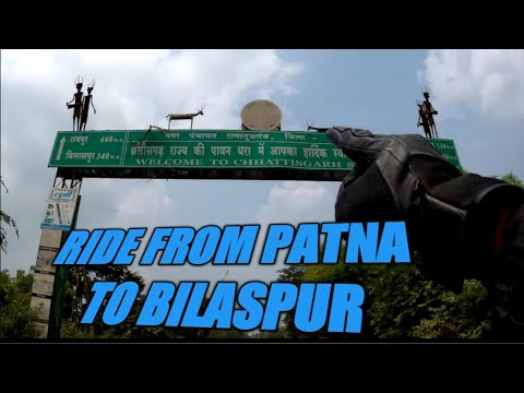 Bike Ride From Patna To Bilaspur
