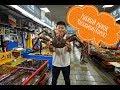 Южная Корея!Рынок  морепродуктов  (Чагалчхи-Сиджан!!!)Ем живого осьминога,лобстера и гребешок
