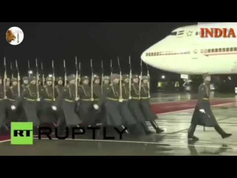 MODI vs NAWAZ in Russia. See shocking difference. Watch till END.
