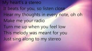 Megan and Liz Stereo Hearts Lyrics