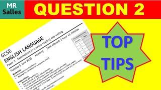 English Language Exam Question 2 Analysing a Writer's Language