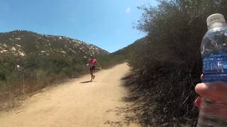 Lake Poway Mount Woodson run(part 1)/up the fire trail