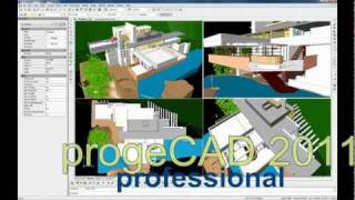 "Progecad 2011, ""autocad Like"" Dwg Cad Software For 1/10th The Price"
