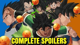 DragonBall Super Broly Movie Complete Spoilers