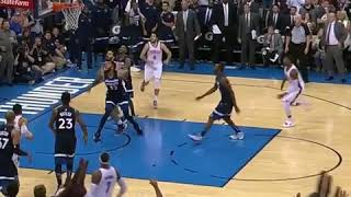 Andrew Wiggins WILD Halfcourt Three For The Win After Carmelo Go Ahead Three!