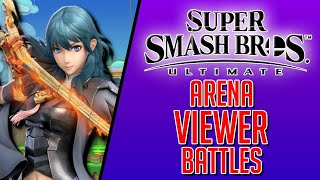 ALMOST TO 800!   Smash Ultimate Viewer Battles!