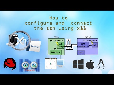 How To Connect SSH Using X11 And Run The GUI Application In Tamil